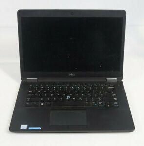 """Dell Latitude E7470 14"""" Intel i7-6600U 2.6GHz Fair No RAM SSD"""