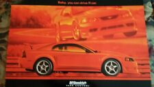 BF GOODRICH SIGN OF A 2000 FORD MUSTANG SVT COBRA R POSTER