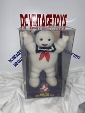 Vintage Stay-Puft Marshmallow Man Plush Afa 80 Kenner Real Ghostbusters 1986