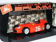 Brumm S024 Ferrari D50 Juan Manuel Fangio 1956 Italian GP #26 LTD ED 1/43