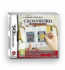Crossword Collection Nintendo DS NDS 2ds DSL DSi 3ds UK Release