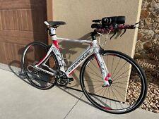 New listing Cannondale Slice 105 Triathlon/TT Bike 51cm Carbon Shimano 105. Low Miles!!