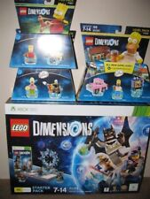LEGO DIMENSIONS STARTER PACK XBOX 360 WITH SIMPSONS FUN/LEVEL PACKS - BNIB Melb