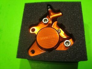 PG Disc Brake Caliper Orange-Goldish Repsol Color w/PG 220m Dio / Ruckus bracket