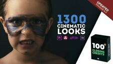 1300 Cinematic Looks LUTs Color Presets Pack Adobe Premiere Pro And After Effect