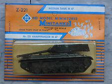 Roco / Herpa Minitanks (NEW) Modern US M-47 Patton Medium Tank Lot #1421