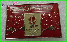 Pin's JO Jeux Olympique Albertville 92 GASPARD Rouge  #H5