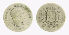 pci4085) VITTORIO EMANUELE II (1861-1878) 1 LIRA STEMMA 1863 MI AR