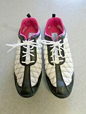 "Footjoy ""Summer Series"" white, black, pink, spikeless golf shoes, Women's 9.5 M"