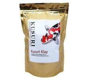 Kusuri Klay 1kg 3kg 8kg Garden Pond Mineral Clay Buffer Mediclay Koi Goldfish