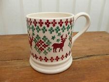 Emma Bridgewater Collectors Club Christmas Jumper 1/2 Pint Mug New 1st Quality