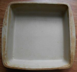 """Pampered Chef 9"""" x 9"""" Family Heritage Square Baking Pan"""