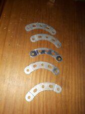 Vintage meccano metal parts curves p6