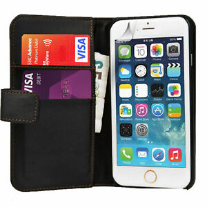 20 PACK - Apple iPhone 6 Plus/6S Plus - PU Wallet Leather Phone Case Cover