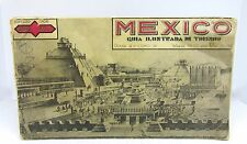 Vintage 1930's Illustrated Tour Guide of Mexico by Joaquin & Agustin Roji