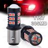 2x 30SMD 3030 2357 1157 BAY15D Red Super Bright Tail Stop Brake Light LED Bulb