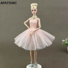 Doll Accessories Costume Ballet Dresses Lace Skirt Dress Clothes For Barbie Doll