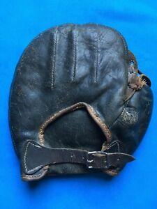 GORGEOUS antique 1910s Reach 7N Fielders mitt baseball glove vintage VERY RARE