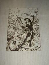 Marvel CIVIL WAR II #1 Kim Jung Gi Sketch Variant NM