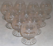 SET OF 10 MINI BRANDY SNIFTERS