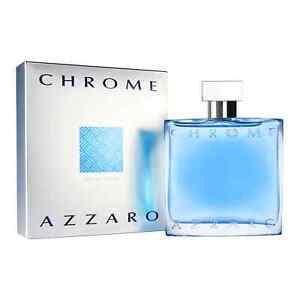Azzaro Chrome pour Homme 100 ml Eau de Toilette Vaporisateur