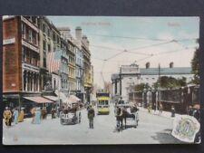 DUBLIN Grafton Street W & A Gilbey c1908 Ex Animated Street Scene by Milton 2410