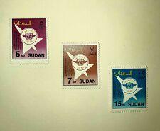 Sudan Stamps Set, 1994, Icao 50Th Anniv. Sc# 467-469