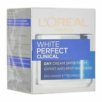 L'Oreal Paris White Perfect Clinical Day cream, SPF 19 PA+++ 50 ml - free ship
