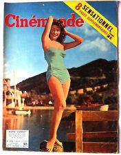 CINEMONDE 4/08/1955; M Corday/ John Derek/ Judy Holliday/ Robert Taylor/ Joannon