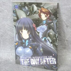 MUV LUV ALTERNATIVE LD5 The Day After Art Material Booklet Anime Book Ltd