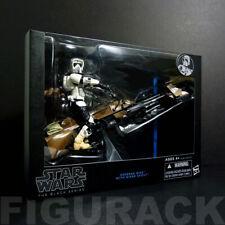 "(New) Star Wars Black Series 6"" Speeder Bike w/ Scout Trooper 1:12 Scale"