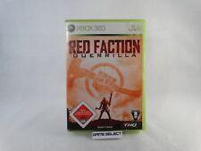 RED FACTION GUERRILLA MICROSOFT XBOX 360 PAL ORIGINALE COMPLETO