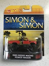 Hot wheels 2014 Retro Entertainment Simon and Simon 1980 Dodge Macho Power Wagon