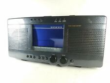 Sharper Image Stereo Sound Soother Clock Stereo Radio Si433