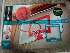 Emerson Pro-Style Hoop With Break-Away Rim By Emerson 18' x 12' Shatter free