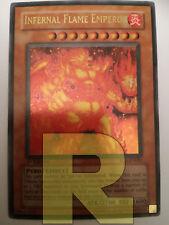 Imperatore Della Fiamma Infernale ® Ultra Rara ® SD3-EN001 ® Inglese ® EX