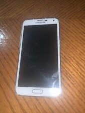 Samsung Galaxy S5  Verizon Shimmery White UNTESTED