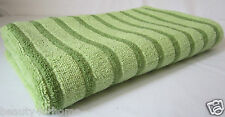 BrandNew 100%Cotton Yarn Dyed Terry Loop Front & Back Bath Towel 70 x 140cm