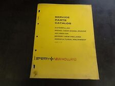 New Holland Caterpillar Model 3208 Diesel Engine Service Parts Catalog Manual 75