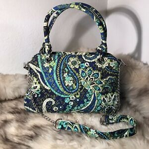 Vera Bradley Satchel With Detachable  Shoulder Strap- Rhythm & Blues