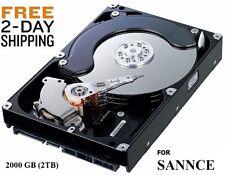 NEW Hard Drive 2000GB ( 2TB ) Internal SATA 3.5 FOR SANNCE DVR FAST SHIPPING!