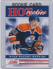 2011-12 SCORE RYAN NUGENT HOPKINS RC PANINI HOT ROOKIE SP #551 OILERS