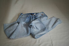 NEW REPLAY ITALY women's blue jeans JUSHMANN– STRAIGHT WAIST –26 LENGTHS – 32