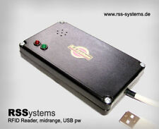 RFID READER 125kHz, MIDDLE-RANGE, USB POWERED, - LOW COST -