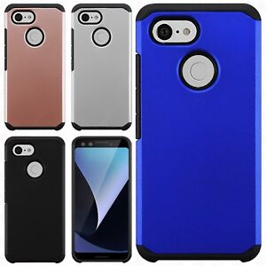 For Google Pixel 3 & 3 XL HARD Astronoot Hybrid Rubber Silicone Case Phone Cover