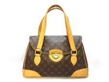 Auth LOUIS VUITTON Monogram Beverly GM M40120 Handbag SR3077