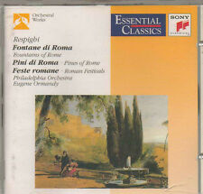 RESPIGHI FOUNTAINS OF ROME, ROMAN FESTIVALS SONY CLASSICAL CD 1994