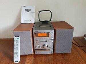 Sony CMT-CP505MD Audio Shelf System-CD Player, MDLP & Tuner