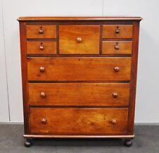HUGE Rustic Antique Victorian Cedar Tallboy * Chest Of Drawers * Dresser  c1880s