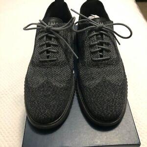 Cole Haan ZeroGrand Wingtip ZeroGrand Shoes | Size 8.0 | Black/Grey